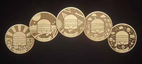 McDonalds Big Mac coins