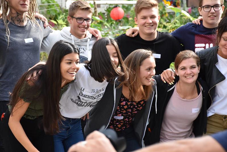 Begrüssungstag 2018 Wirtschaftsschule Thun