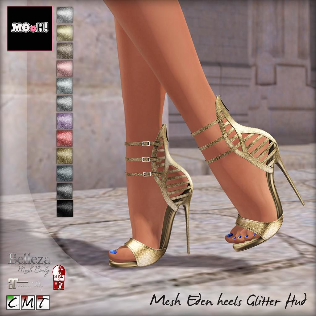 Eden heels glitter Hud - TeleportHub.com Live!