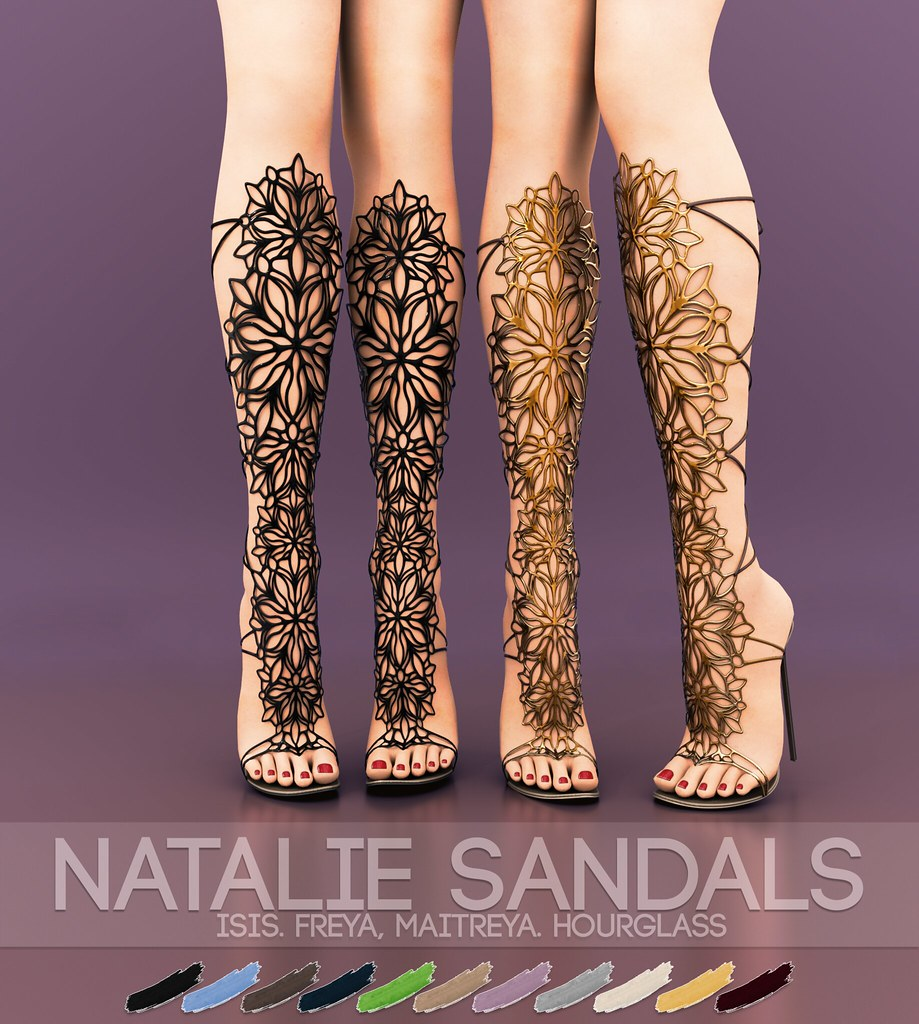 Pure Poison – Natalie Sandals AD
