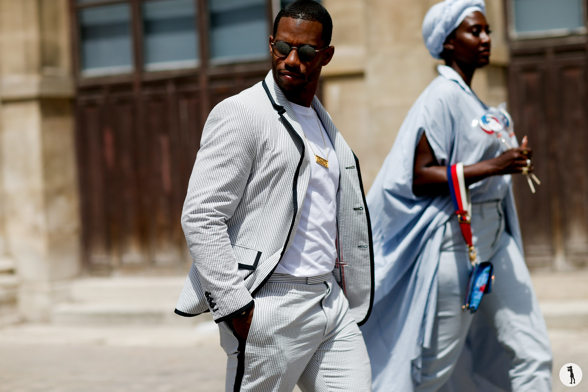 Victor Cruz - Paris Fashion Week Menswear SS19 (4)