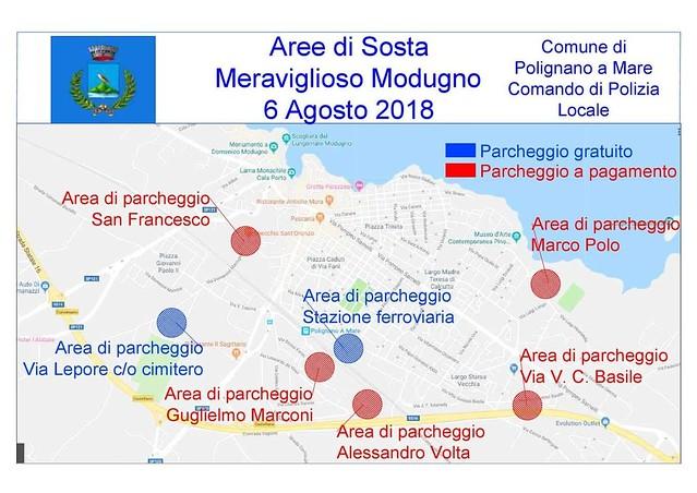mappa parcheggi meraviglioso modugno 2018