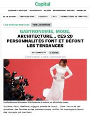 Gastronomie mode architecture ... Ces 20 personnalités qui font et défont le web