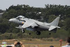 VA1B-37 - SR3 - Spanish Navy Armada - McDonnell Douglas EAV-8B Matador II+ - Farnborough 2018 180721 - Steven Gray - IMG_1641