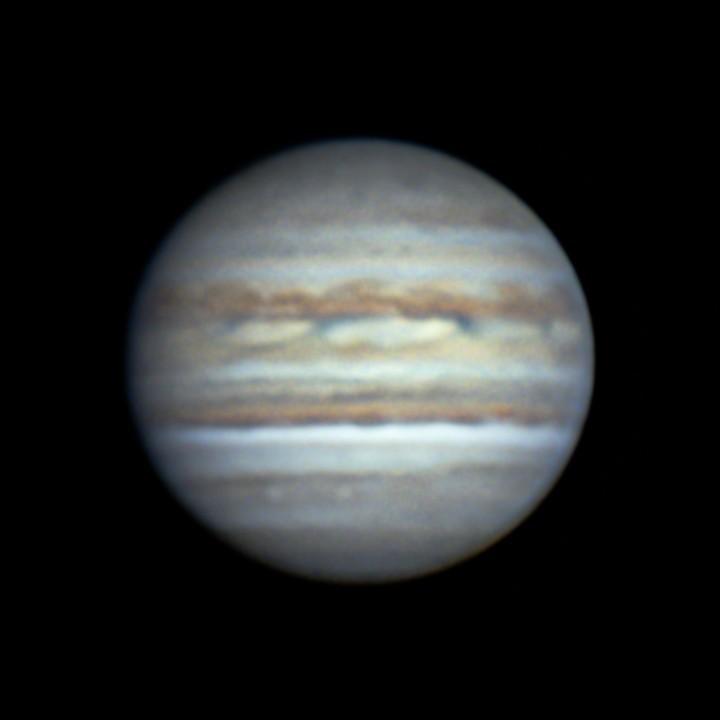 木星 (2018/7/26 20:22-20:23) (1500/3000 LRGB)