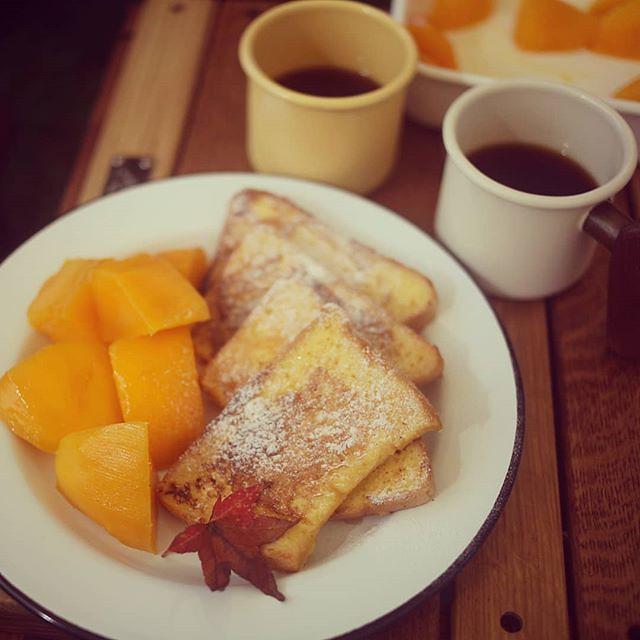 20180728 早安 (其實我們八點就吃飽了) #歐北露 #campingbreakfast #ilovecamping #campinglife #truvii