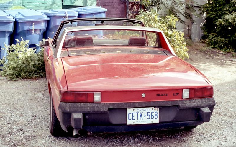 Red Porsche 914 1