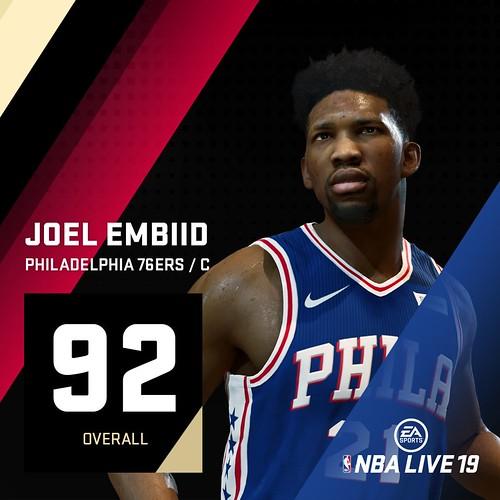 NBA Live 19 Joel Embiid