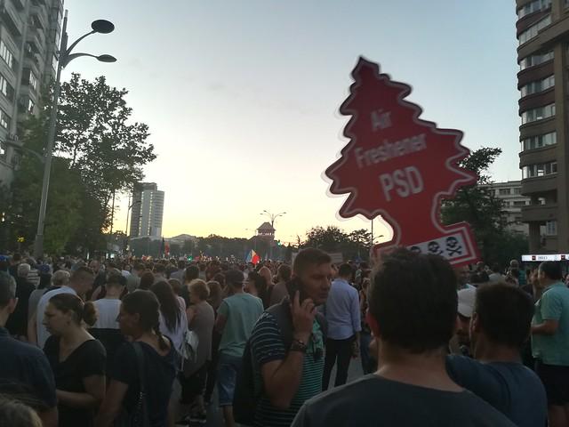 Proteste antiguvernamentale la Bucuresti