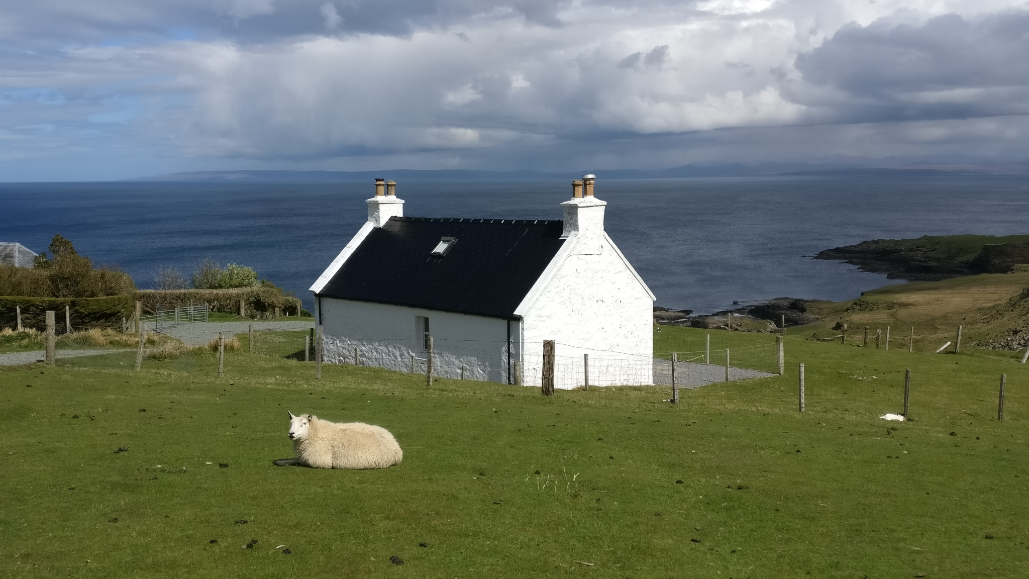 the most common local on the Isle of Skye, in Scotland