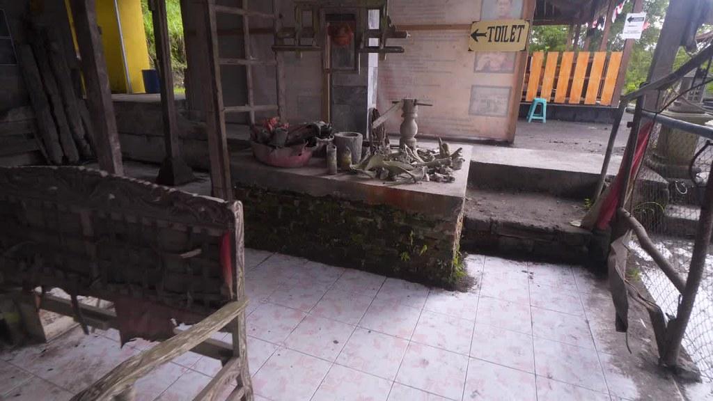 Merapi Eruption Leftover, Jogja