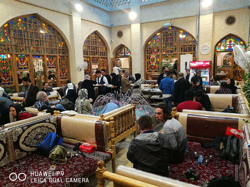 2018 Iran Isfahan 03 Bastani Restaurant
