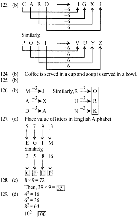 ssc-reasoning-solved-papers-analogy - 26
