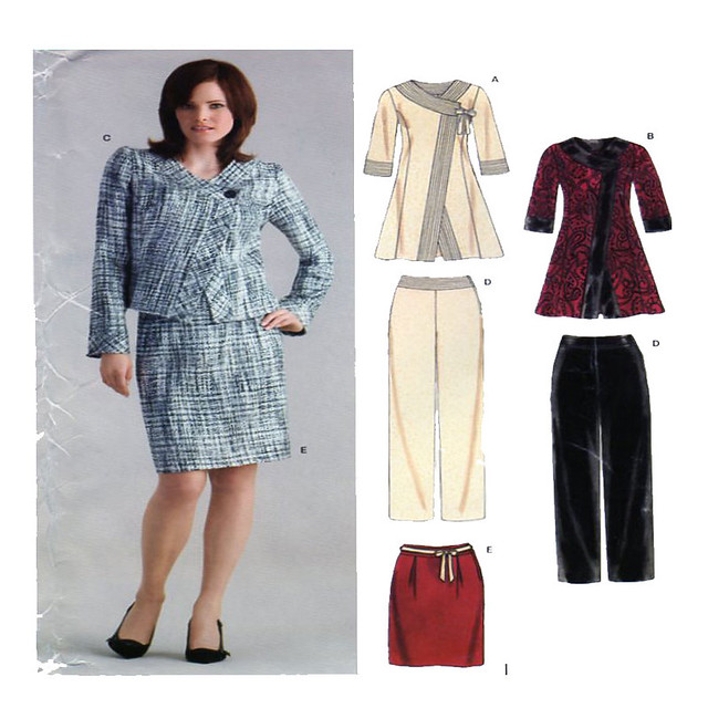 New Look 6632 suit sewing pattern