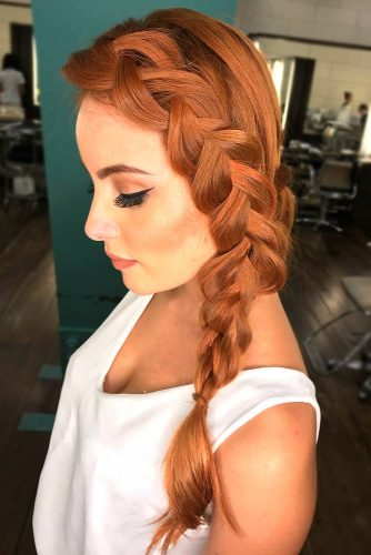 Adorable Dutch Braid Hairstyles To Amaze Your Friends! 13