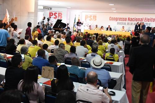Congresso Nacional Eleitoral do PSB - 5/8/2018