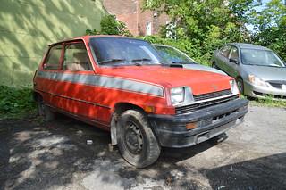 1982-1986 Renault 5 GTL TVG 651 (Québec-CA) - 29 juillet 2018