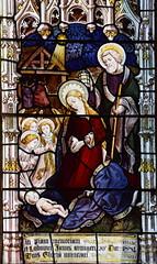 adoration of the angels (Burlison & Grylls, 1880s)