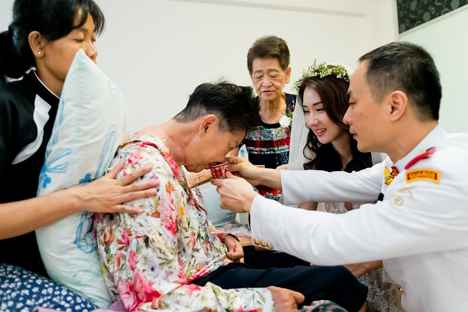 Wedding Guest - Singapore Minister Teo Chee Hean