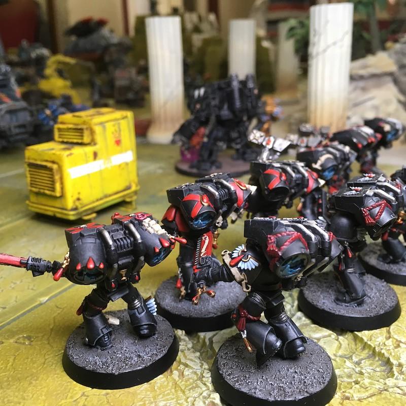 Medal of Colors Indomitus Crusade Battles-31