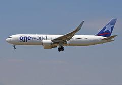 LAN CHILE / Boeing B 767-300 WL CC-CXJ Oneworld / LEBL - BCN / juin 20