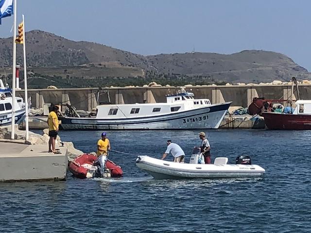 20180804 02 Concurs pesca C.N. Llançà - lliurament i pesada captures
