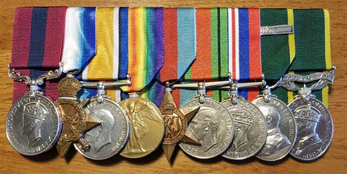 Worcestershire Medal Service medals