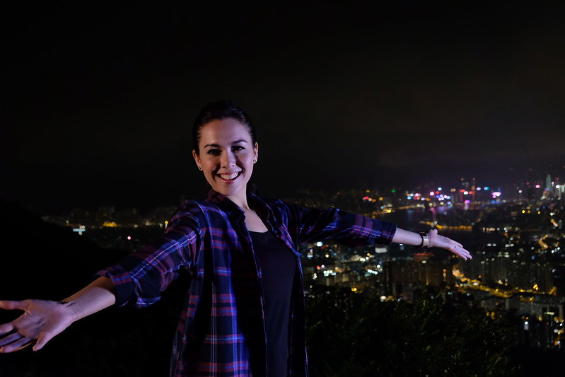 KIX HD_Extreme Ends-Day vs Night with Siti Saleha (Night hike to a view point overlooking HK)