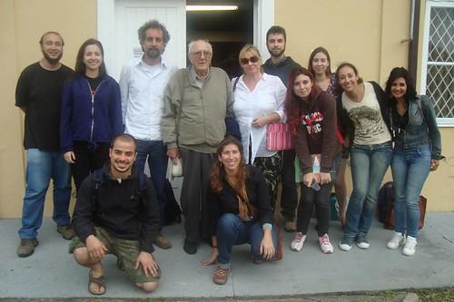 Equipe do LEIA com o prof. Dr. João José Bigarella