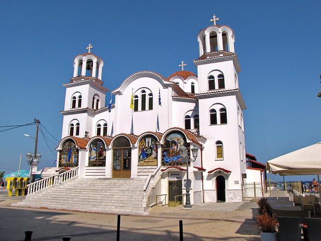 GREECE Agia Paraskevi Church, Canon POWERSHOT SX10 IS
