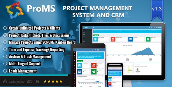 ProMS v1.3.1 – Premium Project Management System