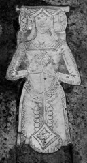 Ann Duke in kennel headdress