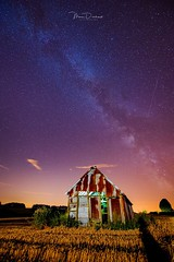 The Milkyway & the shooting stars