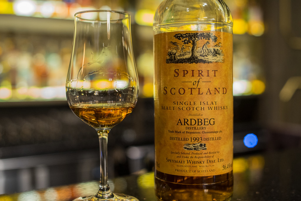 Ardbeg 1993-2010 Spirit of Scotland