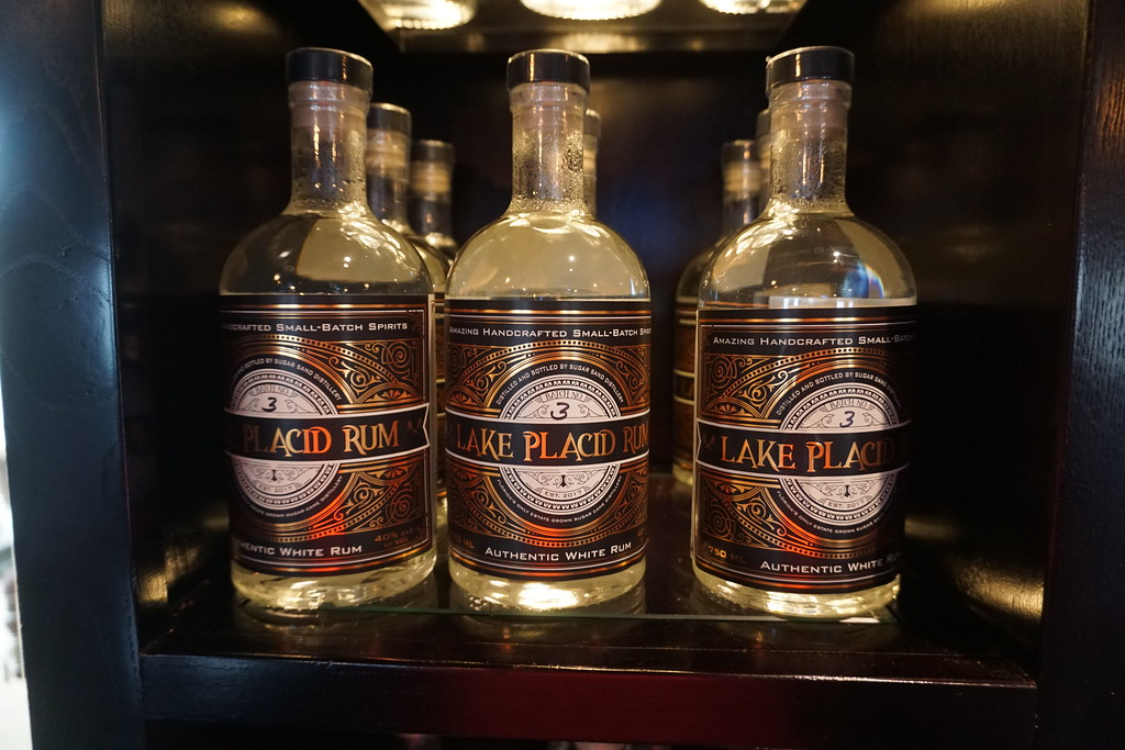 Lake Placid Rum from Sugar Sand Distillery in Lake Placid, Fla., July 2018.