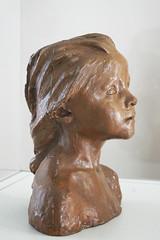La Petite Châtelaine de Camille Claudel (Musée Camille Claudel, Nogent-sur-Seine)