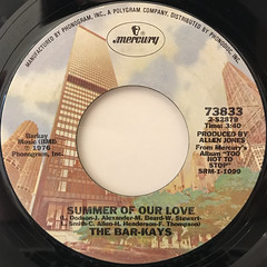 THE BAR-KAYS:SHAKE YOUR RUMP TO THE FUNK(LABEL SIDE-B)