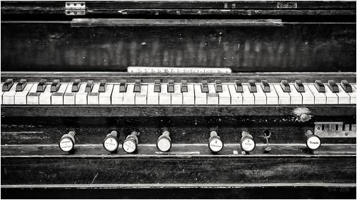 The old Harmonium...