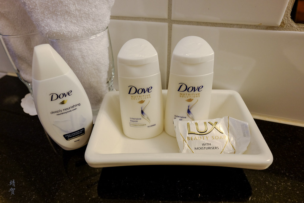 Dove amenities