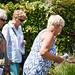 Lovely ladies visiting Eira's garden