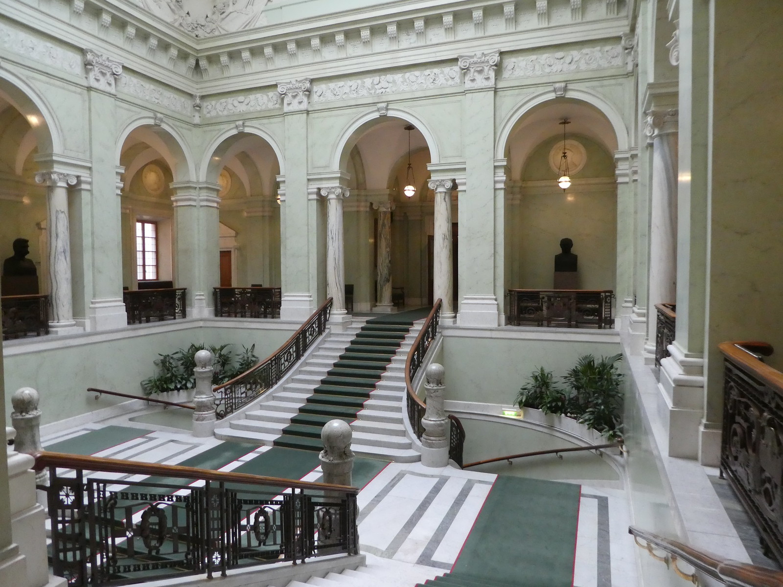 Entrance Hall and Grand Staircase, Swedish Parliament