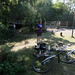 New Forest Cycle Ride - snack & shade