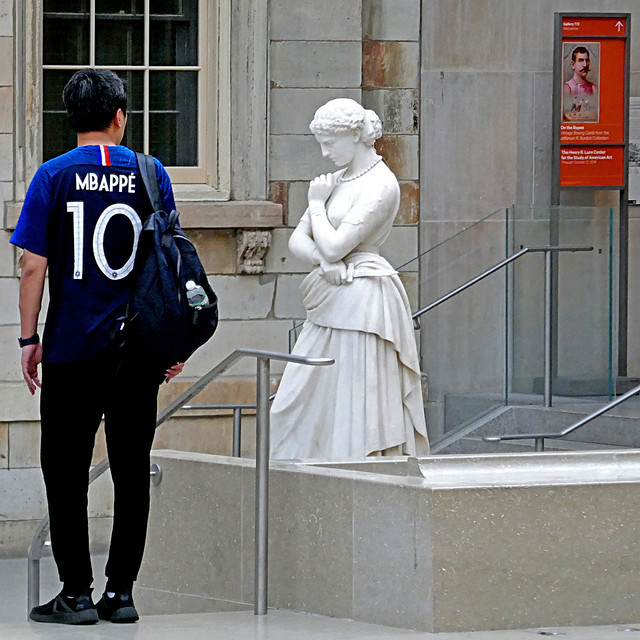 Mbappé at the MET