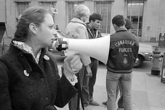 U.S. Cruise Missile Protest, Toronto,  1983