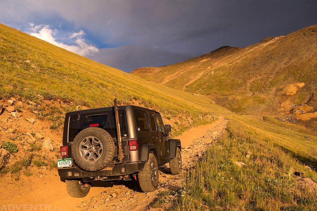 Santa Fe Peak Road
