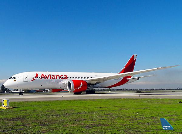 Avianca B787-8 N782AV (RD)