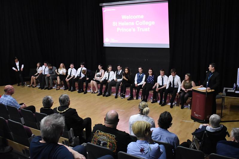 Prince's Trust Team 84 Presentation Event
