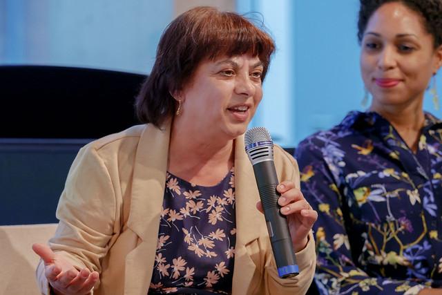 Fatima Hartmann (Mitbegründerin von Rom e.V. Köln) Foto: Bodo Gierga