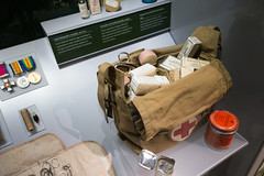 WWII airborne medical kit