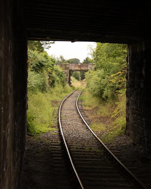 2018 Scotland day 08-02 Keith Station track